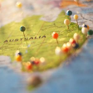 australien kartbild