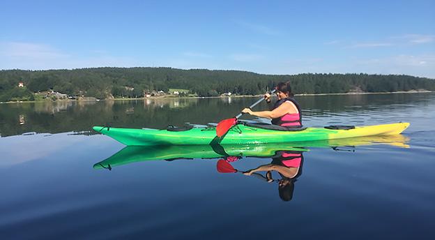 paddling vindön