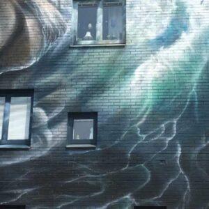 stenungsund artscape väggmålning