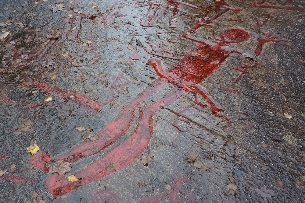 Skomakaren Hällristningsfigur Brastad, Lysekils Kommun