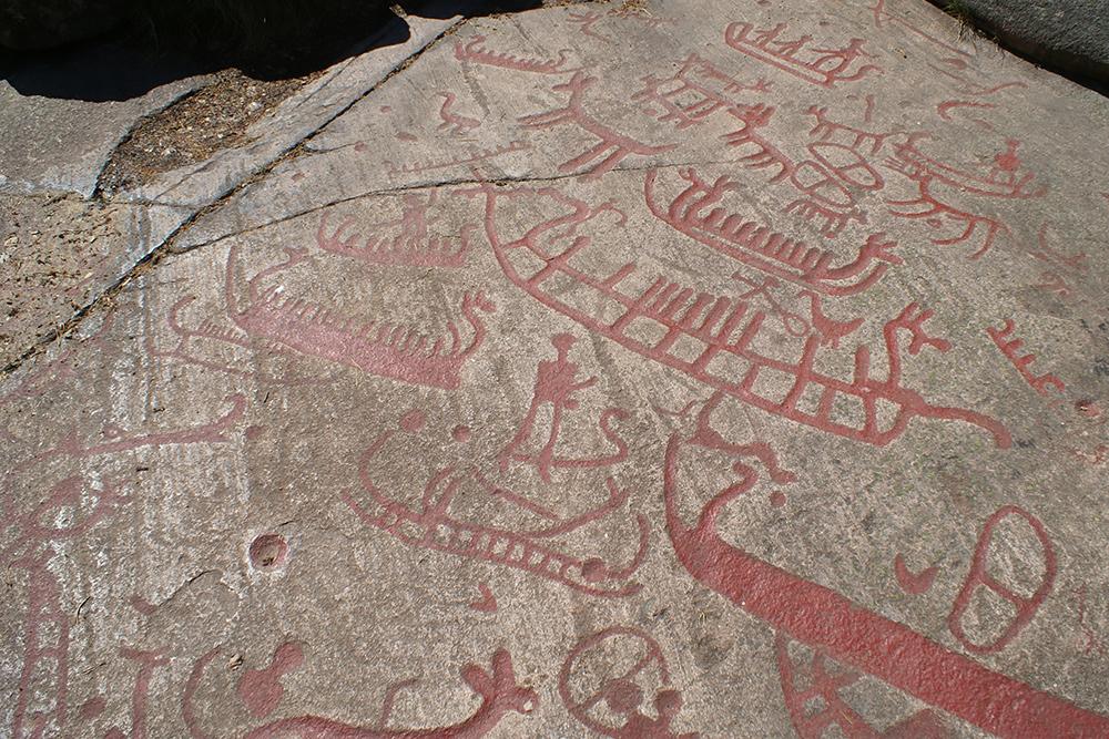 Hällristningsfigurer I Brastad, Lysekils Kommun