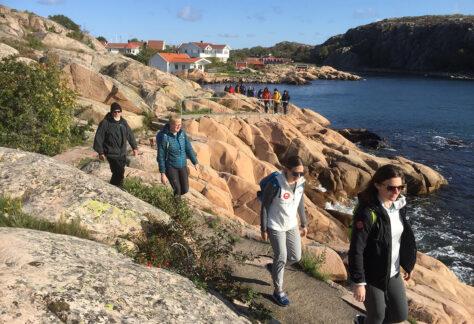 vandra i bohuslän med guide Bohus-Malmön