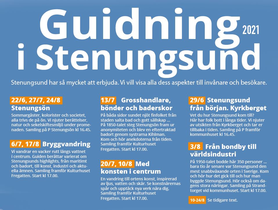 Stenungsund guide 2021 bohusläns guider
